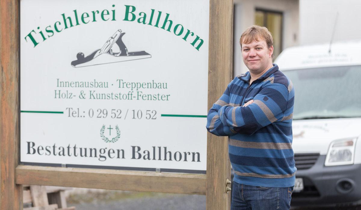 Tischlerei Ballhorn & Bestattungen Ballhorn